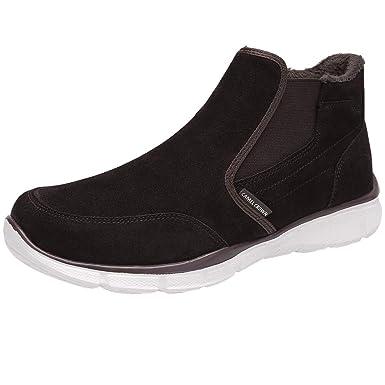 Gepolsterte Warm Camel Slip Wasserdichte Daily Winter Stiefel Für Ankle Boots Leisure Schuhe Casual Herren Leder On Crown Rutschfeste Walk knwO0P