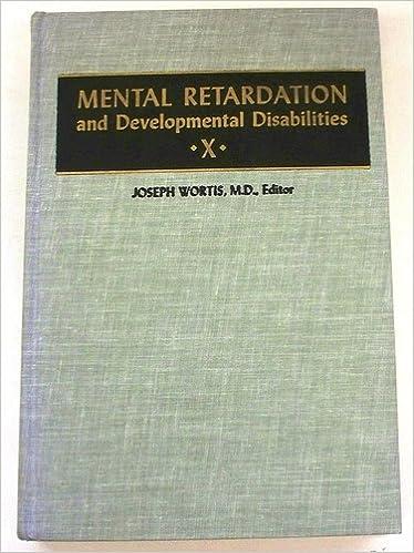 Bestseller-ebooks ladataan ilmaiseksi Mental Retardation and Developmental Disabilities PDF