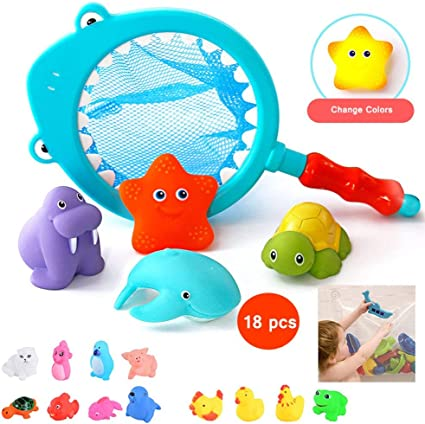1 Mom Pig /& 4 Cub Pig Baby Bath Shower Swimming Toy Educational Toy Kids Boy