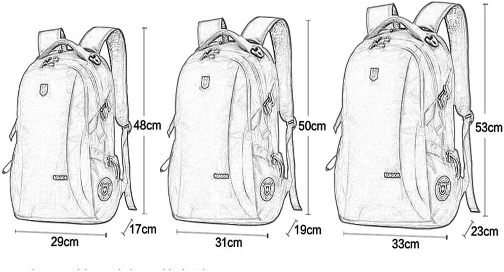 Laptop Backpack Mens USB Charger Port Business Travel Multifunction Smart Waterproof Backpack Student