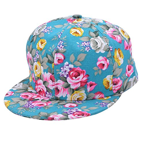 New Summer Lady Floral Flower Baseball Cap Snapback Hip-hop Supreme Sun  Flat Hat - Buy Online in UAE.  ce86e07b0ee