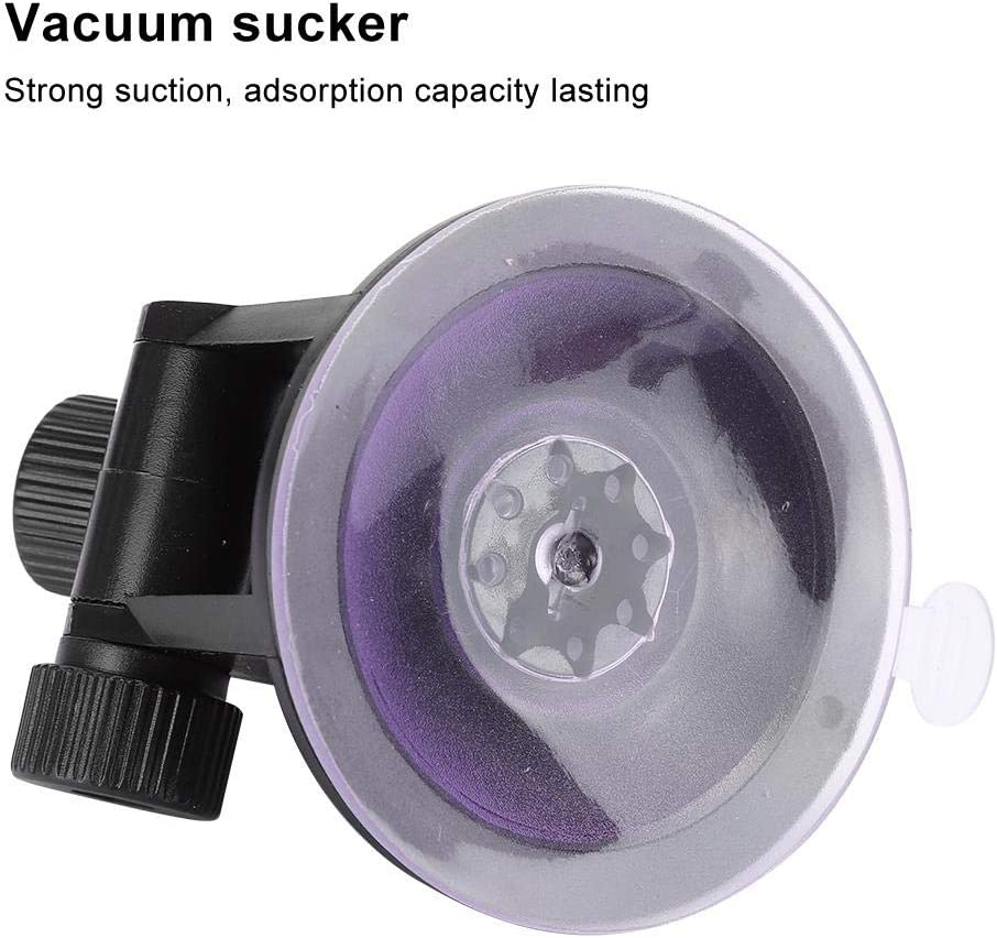 Car Camera Suction Cup Bracket Black Vehicle-Mounted Camera Digtal Camara DV Vaccum Sucker Mounting Holder Replacement Part 76mm Adjustable Height for Car GPS Tablet LCD Monitor Screen DIY