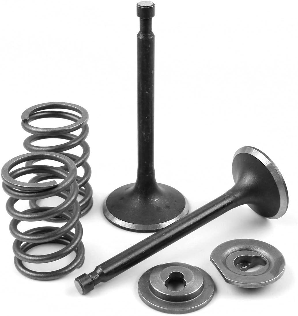 Intake Inlet Exhaust Valve Spring Retainer Set for Honda GX340 GX390 GX 340 390 11HP 13HP 11//13Hp Gas Engine Motor Generator