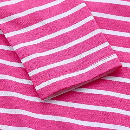 FORESTIME Kids Baby Girls Princess Cartoon Hedgehog Dress Stripe Winter Warm One Piece Clothes