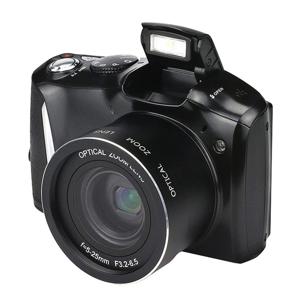 ディショナル 24 MP デジタルカメラ HD 望遠 一眼レフカメラ (3.5インチスクリーン USB2.0 Windows XP/Vista / 7 / Mac対応)   B07NBPQSQ8