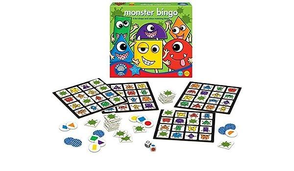 Monster Bingo Board Game by Orchard Toys: Amazon.es: Juguetes y juegos