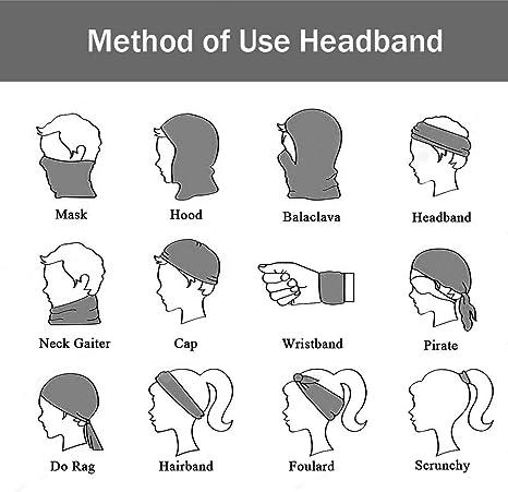 Details about  / 1PC Random Tube Scarf Bandana Neck Gaiter Mouth Head Face Mask Headband Cap
