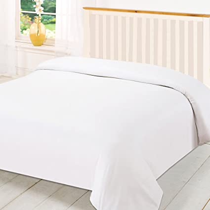 Beddecor King 600tc Wonderful 100 Egyptian Cotton 1pc Duvet Coverwhite Solid