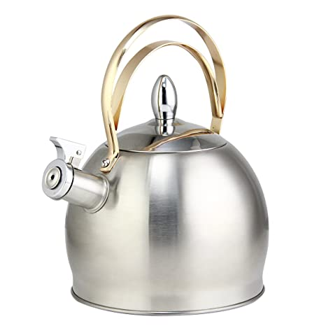 riwendell, té hervidor de agua 3.2-quart hornillo, hervidor de agua tetera de