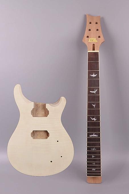 yinfente eléctrica guitarra cuello para guitarra eléctrica cuerpo ...