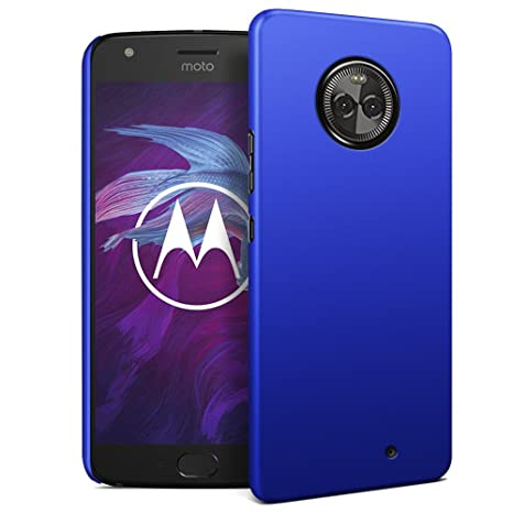 RIFFUE Moto X4 Case, Premium Slim Thin Fit Shell Hard Back Case Shock Absorption Robust PC Cover Matte Texture Rugged Protective Case for Motorola ...