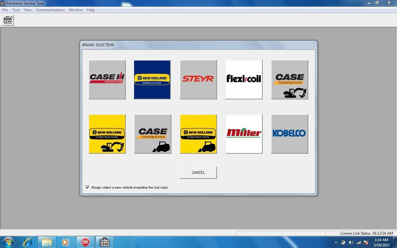 Amazon com: CNH Est DPA 5 Diagnostic Kit 380002884 Diesel Engine