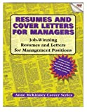 img - for Resumes & Cover Letters For Managers book / textbook / text book