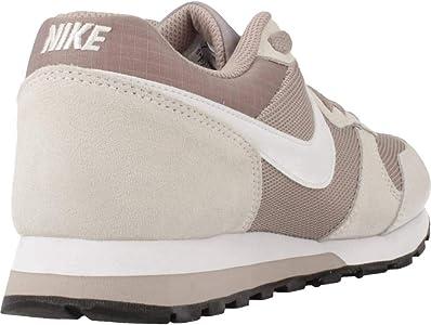 Nike MD Runner 2, Zapatillas de Running Mujer, Multicolor (Pumice/White/Phantom/Black 201), 38 1/2 EU: Amazon.es: Zapatos y complementos