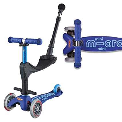 Micro Mini 3en1 Deluxe Plus, Azul. Patinete evolutivo 3 ...