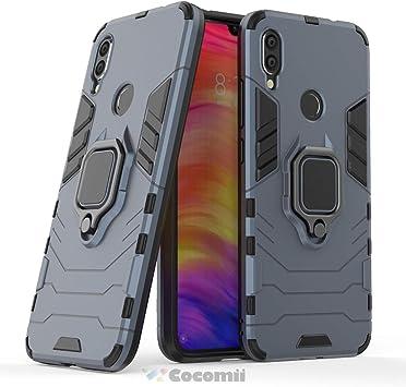Cocomii Black Panther Armor Xiaomi Redmi Note 7/Note 7 Pro Funda ...