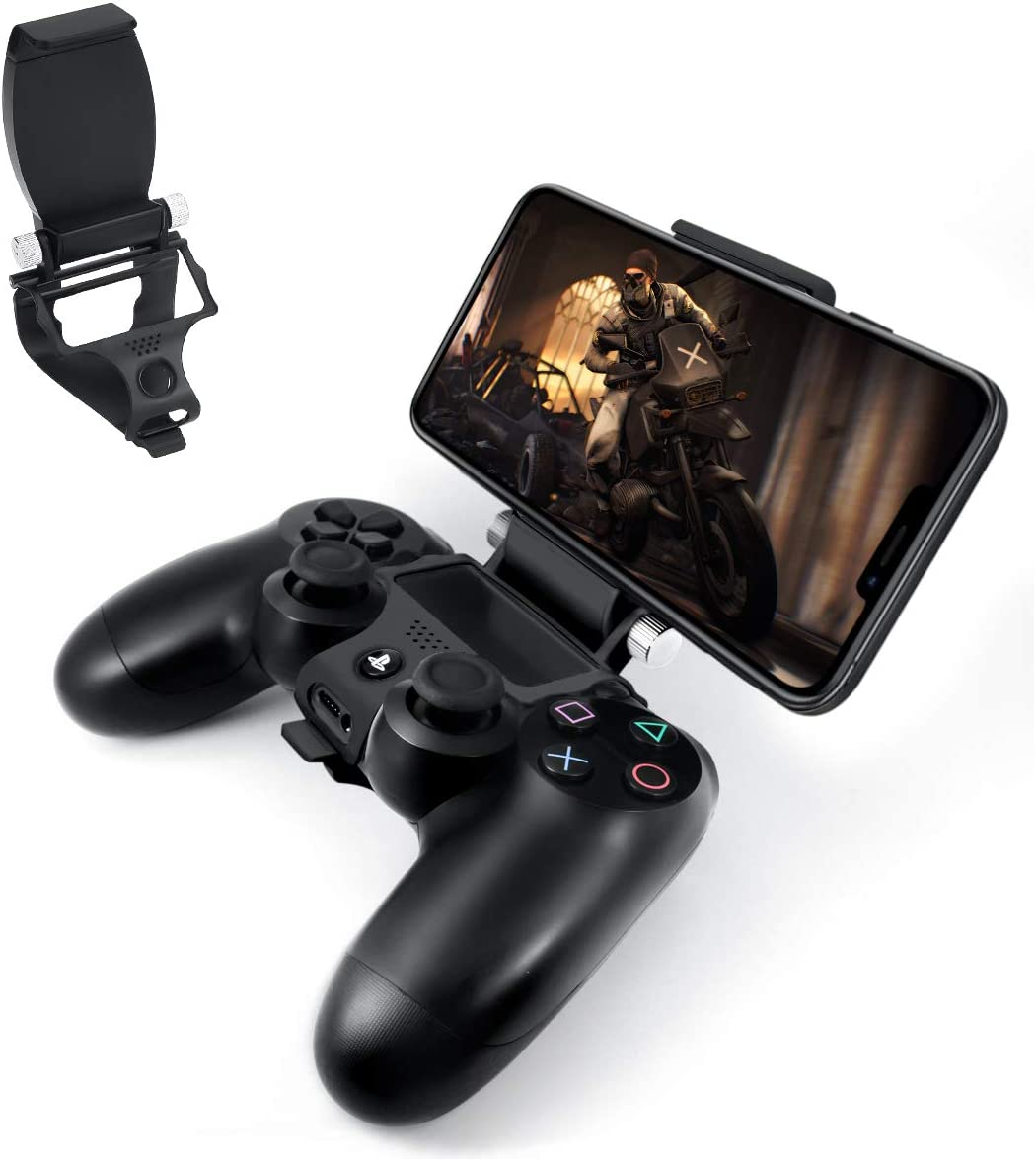 Newseego PS4 Controller Tablet & Phone Mount,Controlador PS4 Plegable Soporte de Fijación Inteligente con Cables OTG para Playstation Dualshock 4,Juego de Soporte de Montaje para PS 4 Slim Pro: Amazon.es: Electrónica