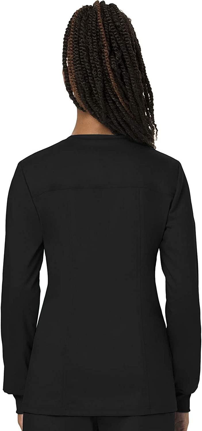 Cherokee Women's Snap Front Warm-up Jacket: Clothing