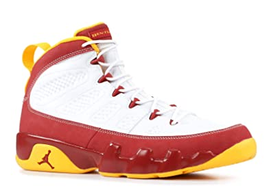 c38f0999b93050 Image Unavailable. Image not available for. Color  Mens Nike Air Jordan 9  Retro Bentley Ellis Crawfish Limited Edition Basketball Shoes White-Dark