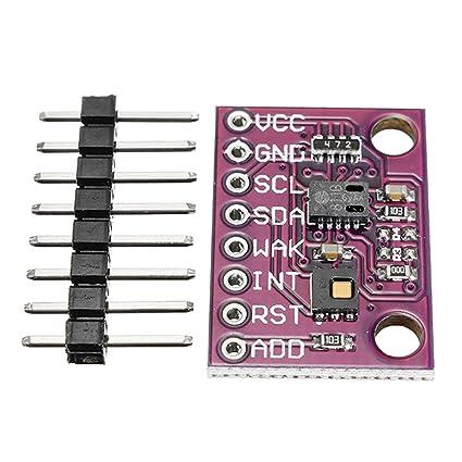 CCS811 HDC1080 Sensor digital de temperatura y humedad, bajo consumo, dióxido de carbono de