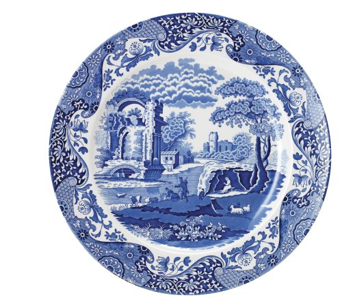 Spode Blue Italian Round Platter Blue Italian Round Platter