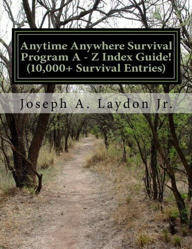 Download Anytime Anywhere Survival Program A - Z Index Guide! ebook