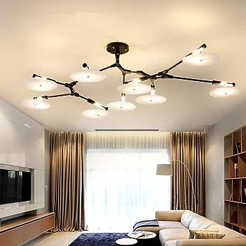 Amazon.com: 9Head /11Head Modern LED Sputnik Ceiling ...