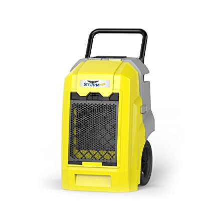 AlorAir Commercial Portable LGR Dehumidifiers 160PPD Saturation, Low Grain  Refrigeration, Heavy-Duty Pump, HGV Defrosting, Internal Corrosion