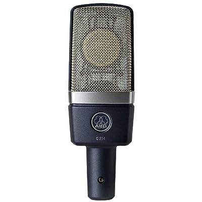 AKG C214 Professional Large Diaphragm Condenser Microphone