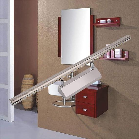 Lorenlli 5w Led Spiegel Lampe Edelstahl Drehbar Mit Niedrigem