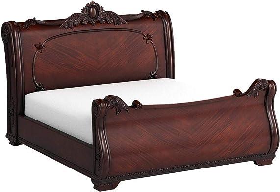 247SHOPATHOME FA-CM7277EK-BED Sleigh bed