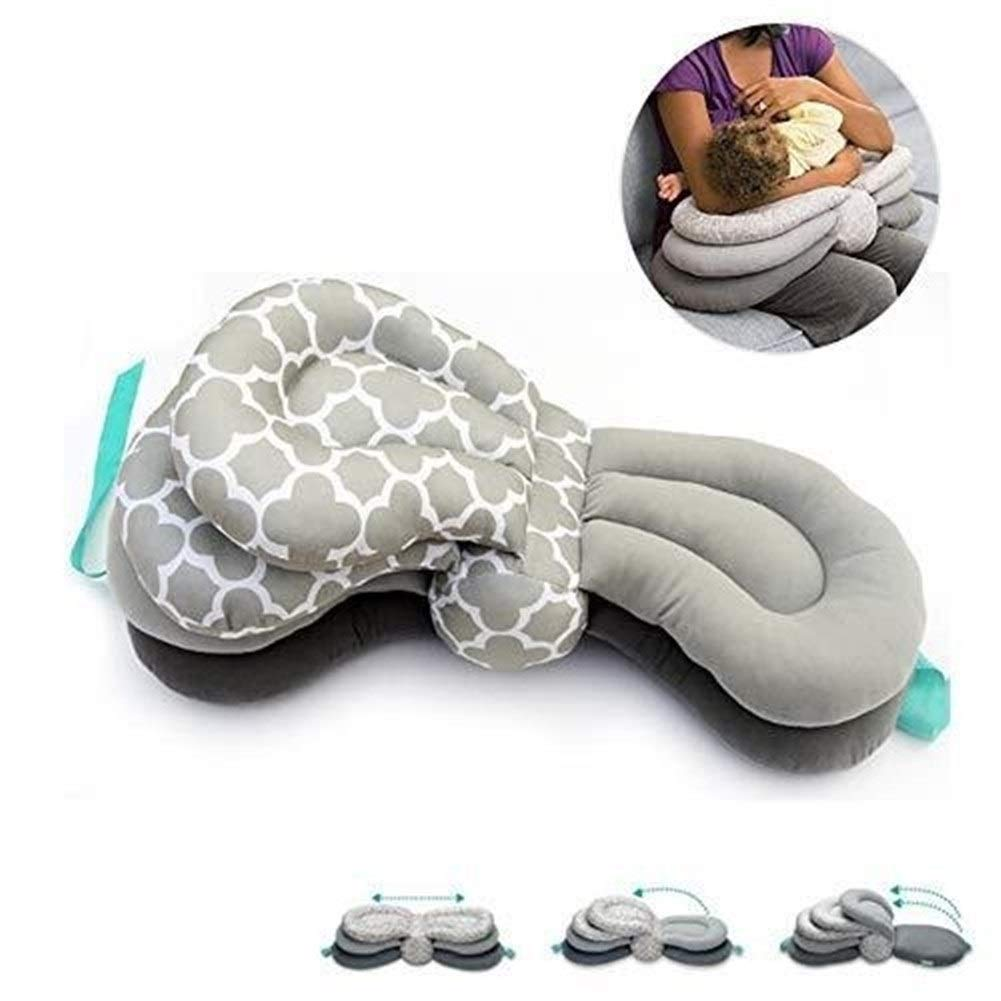 ETERLY Baby Feeding Pillow Maternity Nursing Pillows for Breastfeeding Adjustable Height for 0-12 Months Newborn and Infant by ETERLY