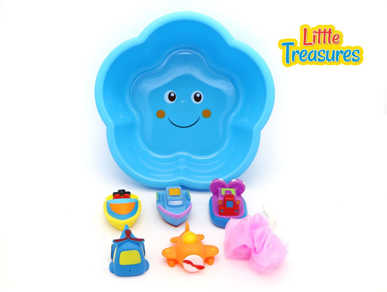 Amazon.com: Bathtub Floating Boats & Planes bath toys for babies of ...