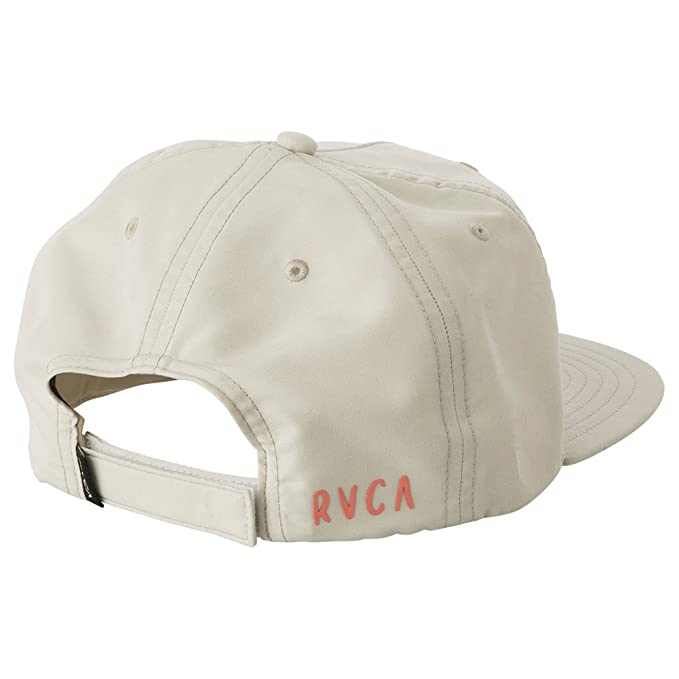 d04f12608a6 RVCA isthmus Strapback Hat - White - One Size  Amazon.co.uk  Clothing