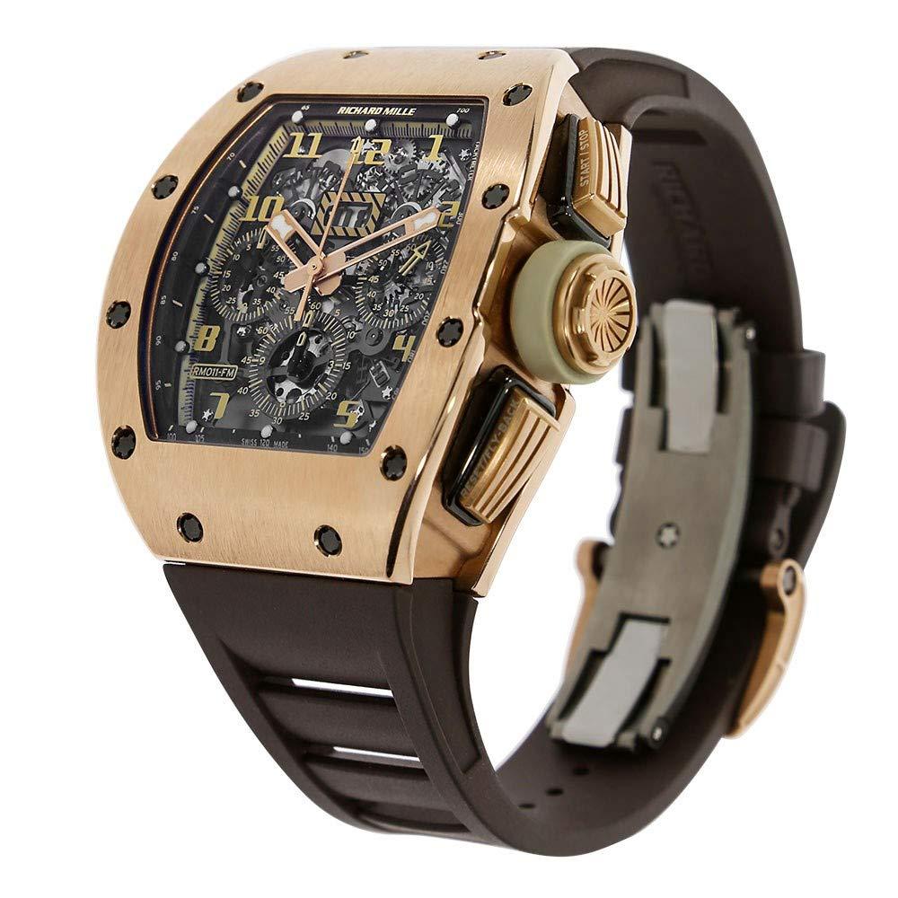 Richard Mille RM 011 Automatic-Self-Wind RM011 - Reloj para Hombre (Certificado de Propiedad previa): Richard Mille: Amazon.es: Relojes