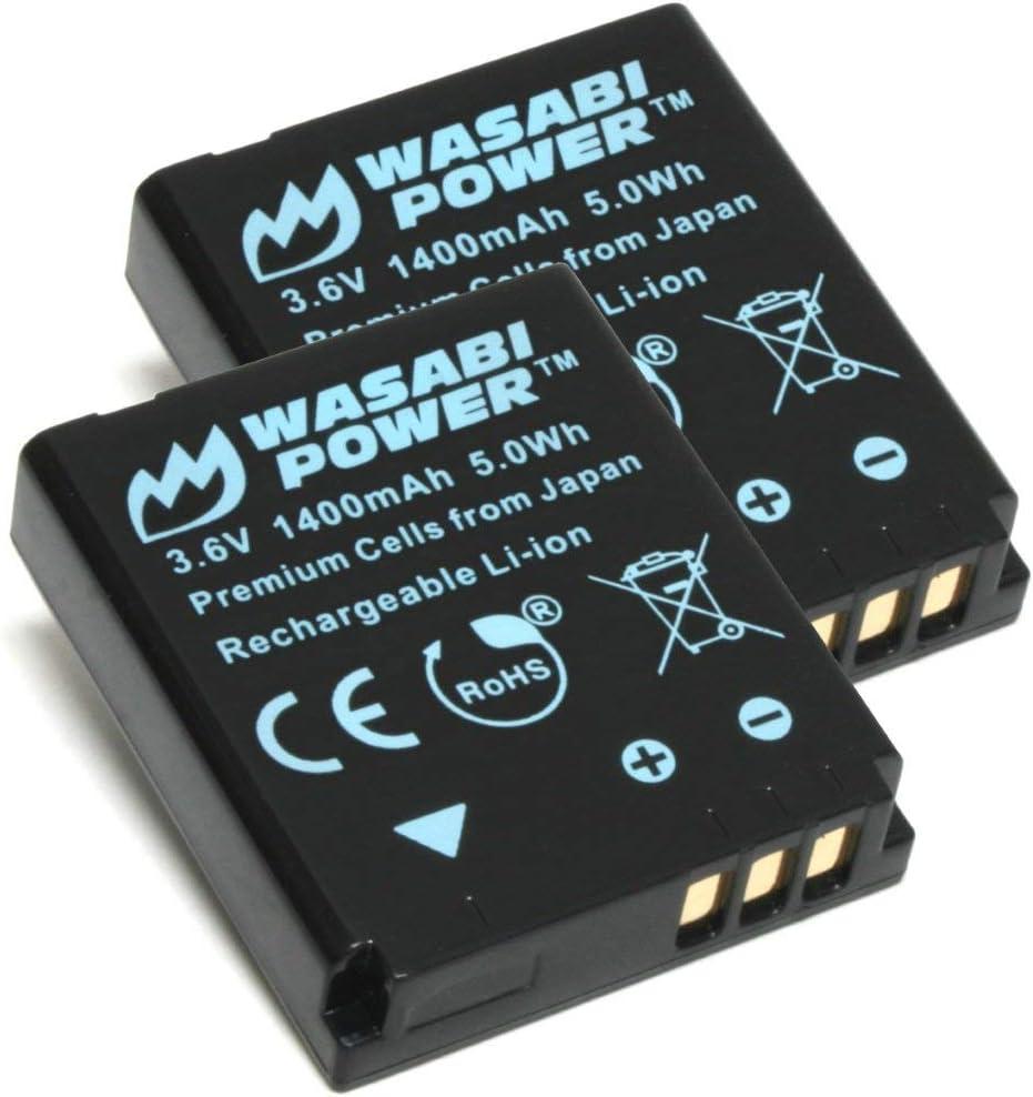 Wasabi Power Kodak LB-080 Replacement (2 Batteries)