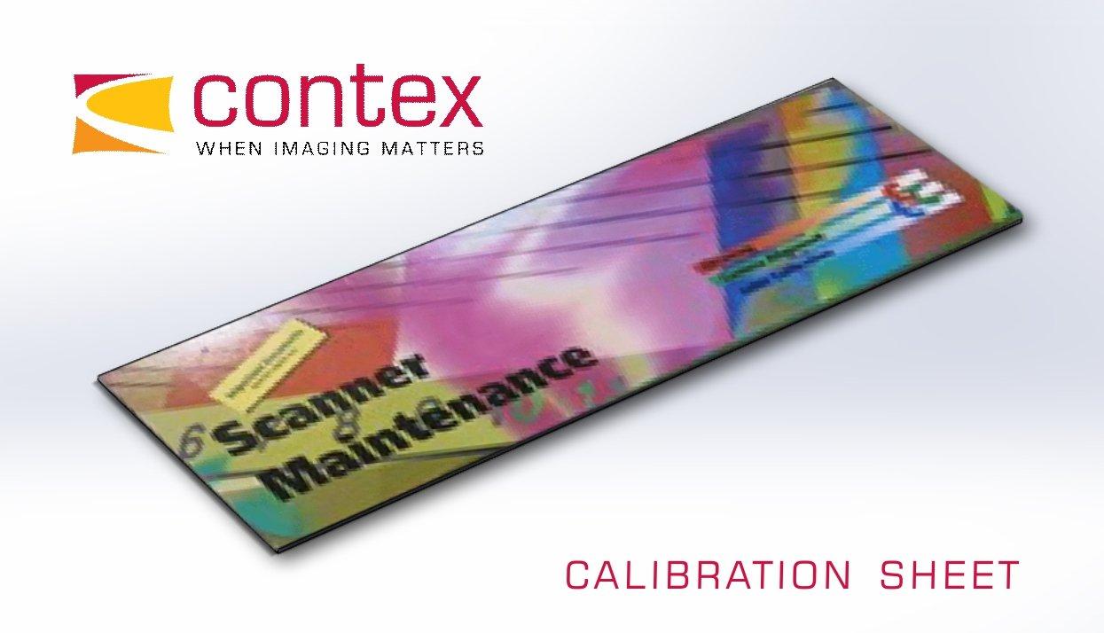 Contex Calibration Sheet, 44', Packed