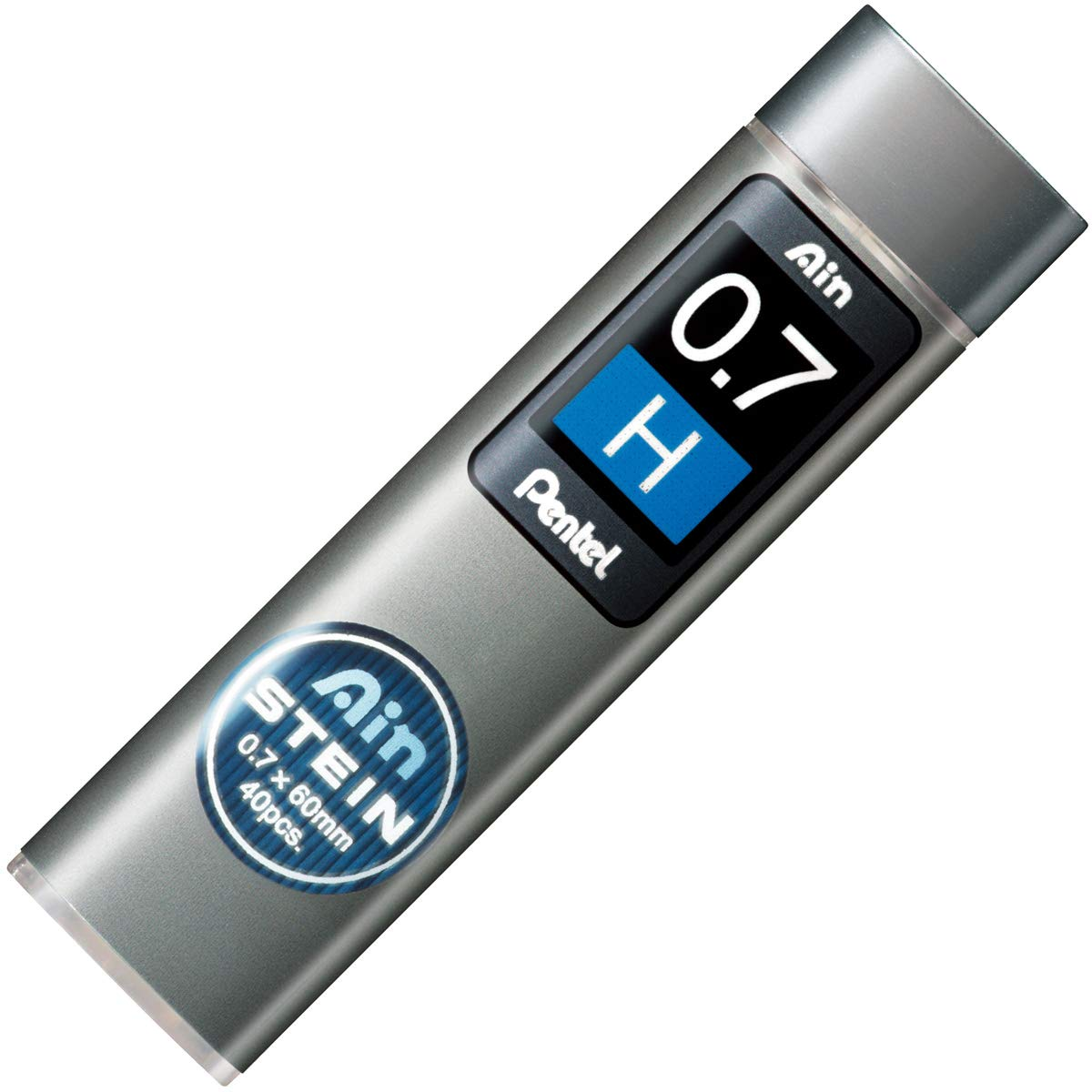 Pentel Ain Stein Leads 0.7mm H Tubes 40(Pack of 12)