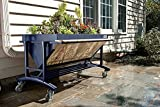 Lgarden Elevated Gardening System, Slate Grey