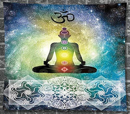 FDONTR Decoración India Mandala Yoga Zen Meditación de Pared ...