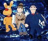 Inspector Gadget Three Piece 9 Plush Beanie Set by Inspector Gadget