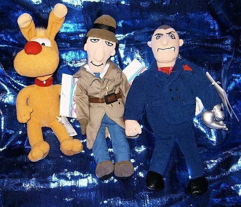Inspector Gadget Three Piece 9 Plush Beanie Set by, used for sale  Delivered anywhere in Canada
