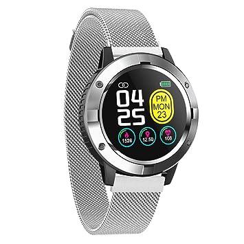 Smartwatch para Hombres Mujeres Niños, Reloj Inteligente ...