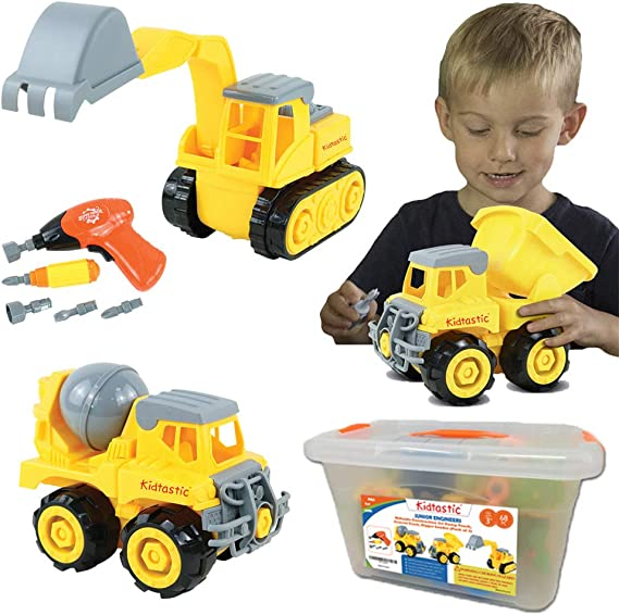 Kidtastic Construction Vehicles