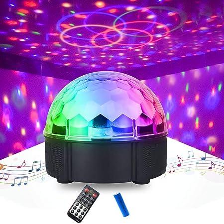 ZOYLINK Luz de proyector Moda 12 Colores Lámpara de proyector LED ...