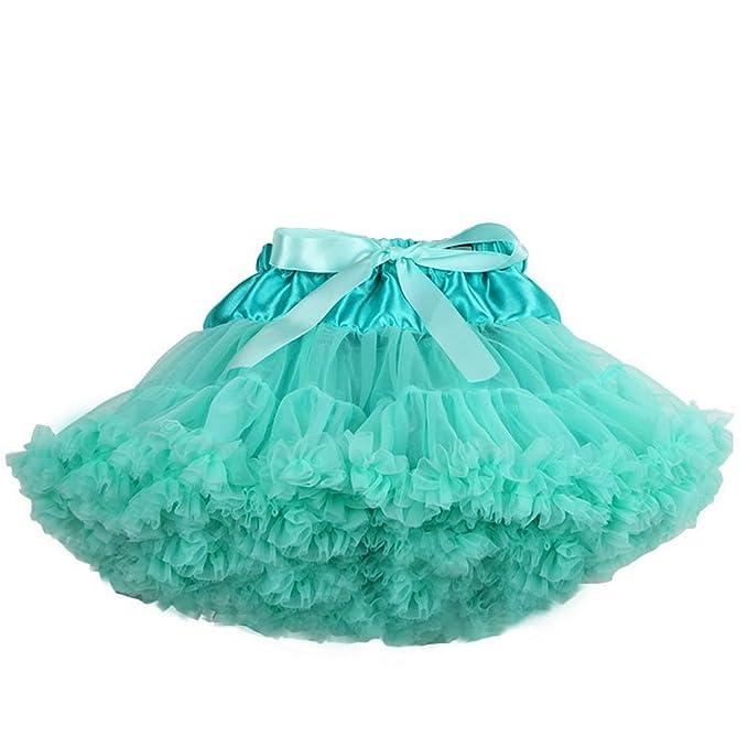 d91b14e0fd Tortoise   Rabbit niños niña Mullido Danza Ballet enaguas Tutu Skirt falda  del tutú (S