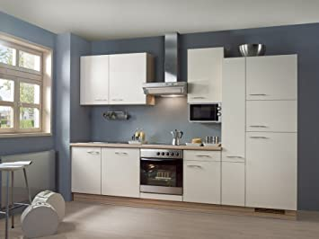 Bay Küchen Küchenzeile Ibiza Inkl Elektrogeräte Mit