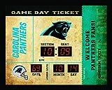 Team Sports America Carolina Panthers Bluetooth Scoreboard Wall Clock