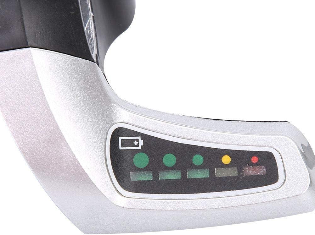 VGEBY Kit de contr/ôleur de Vitesse /à Moteur bross/é 1000W 36V//48V Ensemble de Commande de Scooter de Moteur /électrique Affichage de la Batterie Poign/ée de Torsion des gaz avec Verrouillage
