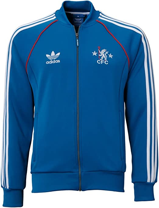 Adidas Chelsea FC Superstar Track Top-DRKROY (XS): Amazon.es ...